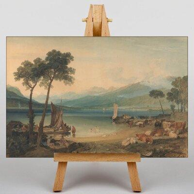 Big Box Art Lake Geneva by Joseph Mallord William Turner Art Print on Canvas