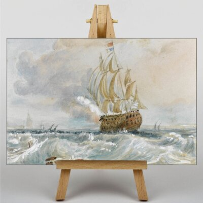 Big Box Art Watercolour No.2 by Joseph Mallord William Turner Art Print on Canvas