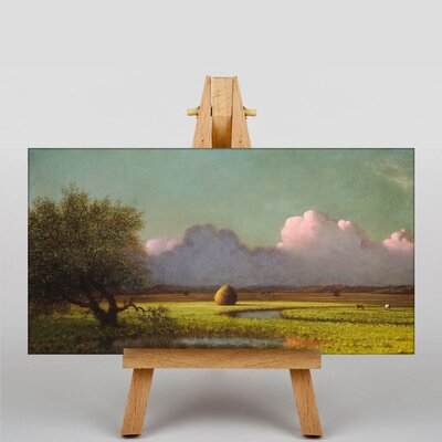 Big Box Art Sunlight and Shadow, Newbury Marshes by Martin Johnson Heade Art Print on Canvas