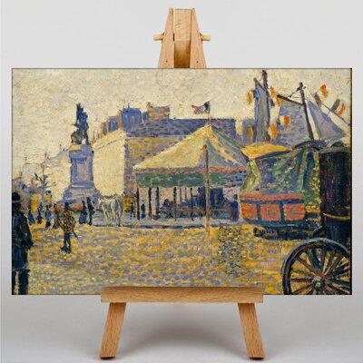 Big Box Art Place Clichy by Paul Signac Art Print on Canvas