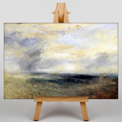 Big Box Art Margate from the Sea by Joseph Mallord William Turner Art Print on Canvas