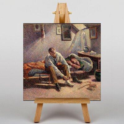 Big Box Art Morning, Interior by Maximilien Luce Art Print on Canvas