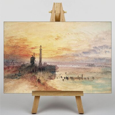 Big Box Art Yarmouth Harbour Norfolk by Joseph Mallord William Turner Art Print on Canvas