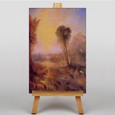 Big Box Art Turner Merkur and Argus by Joseph Mallord William Turner Art Print on Canvas