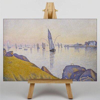 Big Box Art Concarneau by Paul Signac Art Print on Canvas