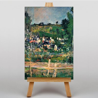 Big Box Art View of Auvers by Paul Cezanne Art Print on Canvas