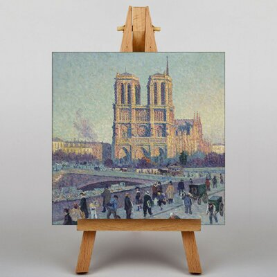 Big Box Art Notre Dame by Maximilien Luce Art Print on Canvas