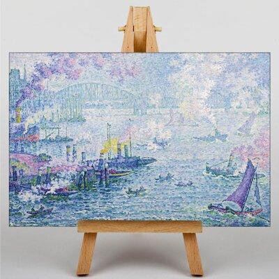 Big Box Art The Port of Rotterdam by Paul Signac Art Print on Canvas