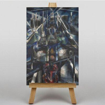Big Box Art Brooklyn Bridge by Joseph Stella Art Print on Canvas