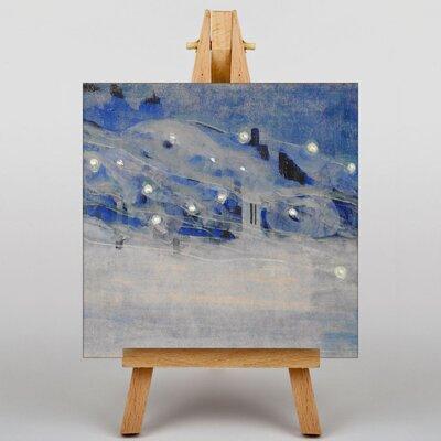 Big Box Art Ciurlionis Sparks III by Mikalojus Konstantinas Art Print on Canvas
