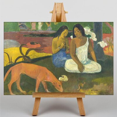 Big Box Art Arearea by Paul Gauguin Art Print on Canvas