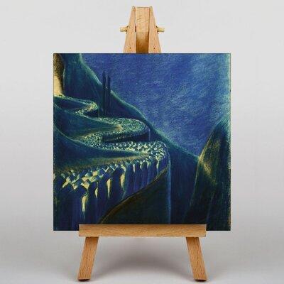 Big Box Art Ciurlionis The March by Mikalojus Konstantinas Art Print on Canvas