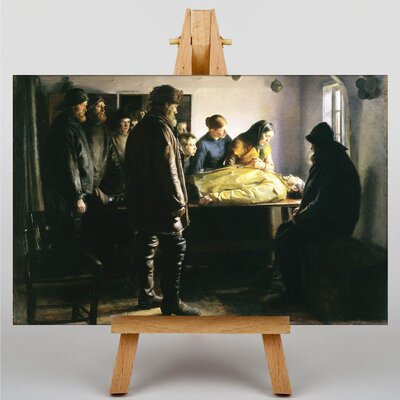Big Box Art The Drowned Fishermen by Michael Ancher Art Print on Canvas