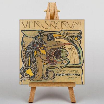 Big Box Art Plakatentwurf by Koloman Moser Vintage Advertisement on Canvas