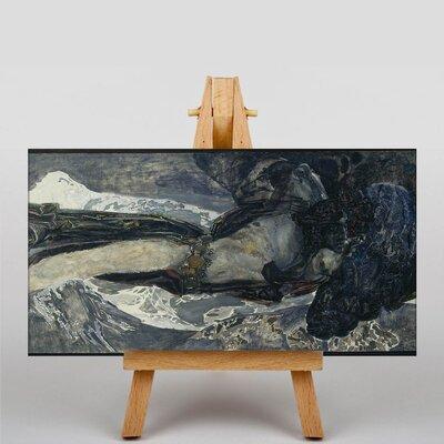 Big Box Art Flying Demon by Mikhail Vrubel Art Print on Canvas