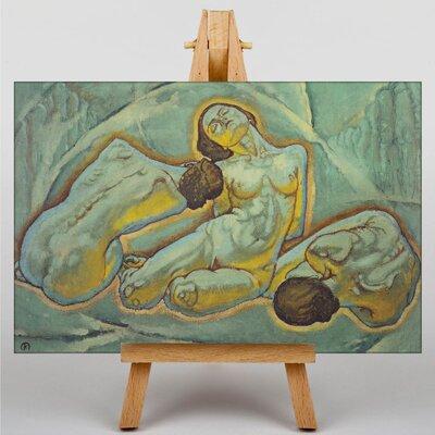 Big Box Art Three Women by Koloman Moser Art Print on Canvas