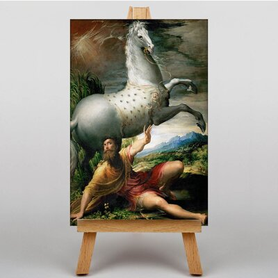 Big Box Art The Conversion of St. Paul by Parmigiano Art Print on Canvas