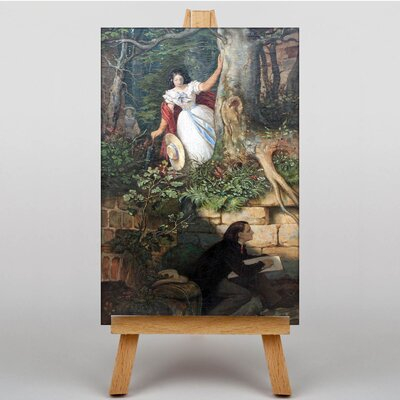 Big Box Art Adventures of Joseph Binder Anagoria by Moritz Von Schwind Art Print on Canvas
