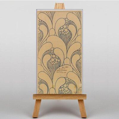 Big Box Art Waves by Koloman Moser Graphic Art on Canvas