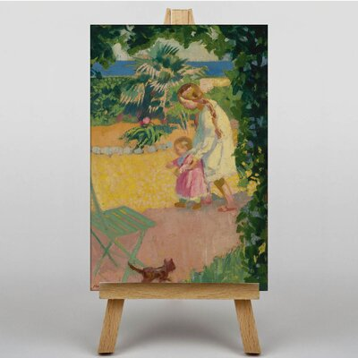 Big Box Art First Steps by Maurice Denis Art Print on Canvas