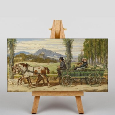 Big Box Art Schwind The Outing by Moritz Von Schwind Art Print on Canvas