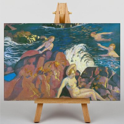 Big Box Art Wave by Maurice Denis Art Print on Canvas