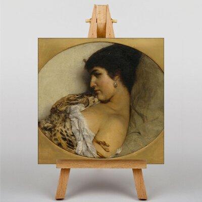 Big Box Art Cleopatra by Lawrence Alma-Tadema Art Print on Canvas