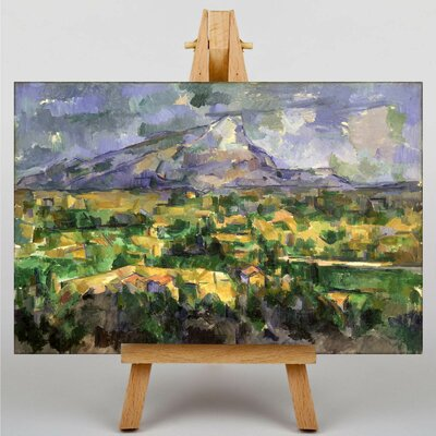 Big Box Art Montagne Sainte Victoire by Paul Cezanne Art Print on Canvas