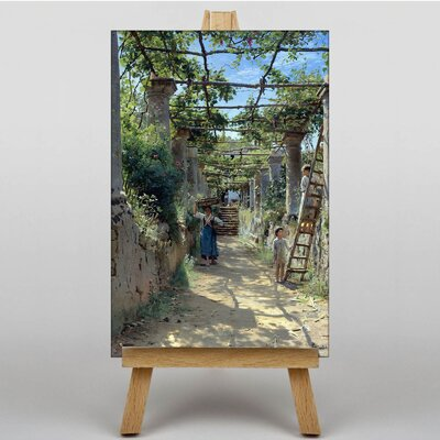 Big Box Art Capri by Peder Mork Monstead Art Print on Canvas