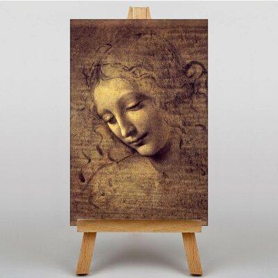 Big Box Art La Scapigliata by Leonardo Da Vinci Art Print on Canvas