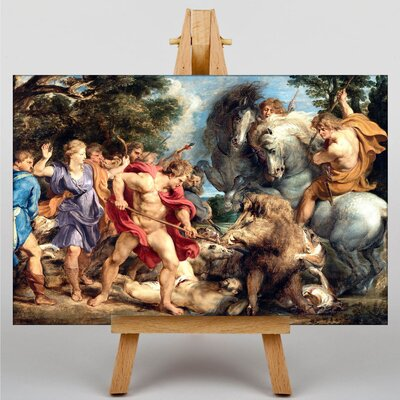 Big Box Art Attack by Peter Paul Rubens Art Print on Canvas