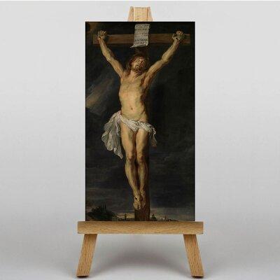 Big Box Art Christ on the Cross by Peter Paul Rubens Art Print on Canvas