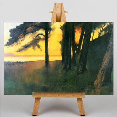 Big Box Art Grunewald by Lesser Ury Art Print on Canvas