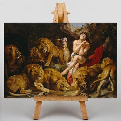 Big Box Art Daniel in the Lions Den by Peter Paul Rubens Art Print on Canvas