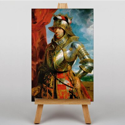 Big Box Art Emperor Maximilian by Peter Paul Rubens Art Print on Canvas