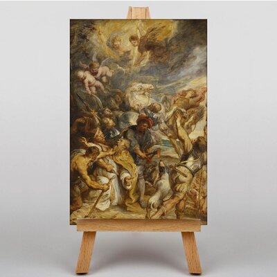 Big Box Art Martyrdom of Saint Livinus by Peter Paul Rubens Art Print on Canvas