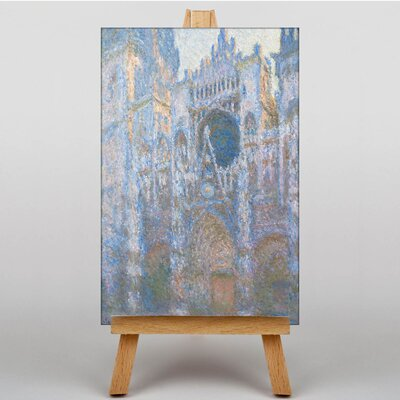 Big Box Art Rouen Cathedral by Claude Monet Art Print on Canvas