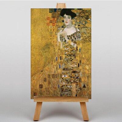 Big Box Art Portrait of Adele Bloch-Bauer No.2 by Gustav Klimt Art Print on Canvas