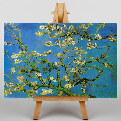 Big Box Art Blossoming Almond Branches No.1 by Vincent Van Gogh Art Print on Canvas