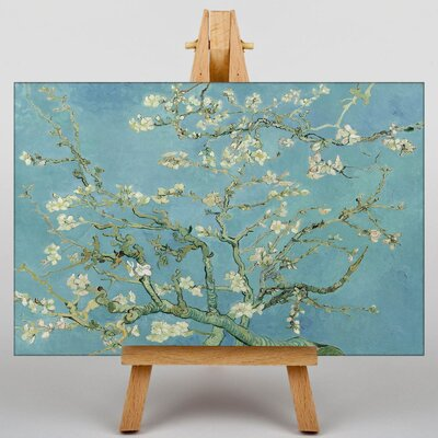 Big Box Art Blossoming Almond Branches No.2 by Vincent Van Gogh Art Print on Canvas