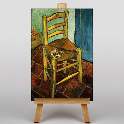 Big Box Art Chair and Pipe by Vincent Van Gogh Art Print on Canvas