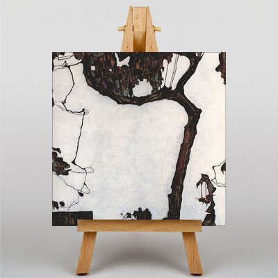 Big Box Art Tree by Egon Schiele Art Print on Canvas