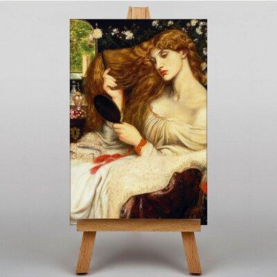 Big Box Art Lady Lilith by Dante Gabriel Rossetti Art Print on Canvas
