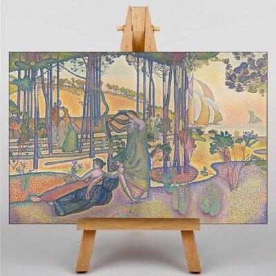 Big Box Art The Evening Air by Henri-Edmond Cross Art Print on Canvas