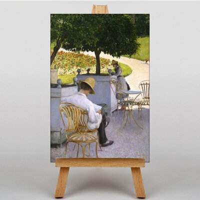 Big Box Art The Orange Trees by Gustave Caillebotte Art Print on Canvas