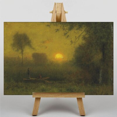 Big Box Art Landscape No.5 by George Innes Art Print on Canvas