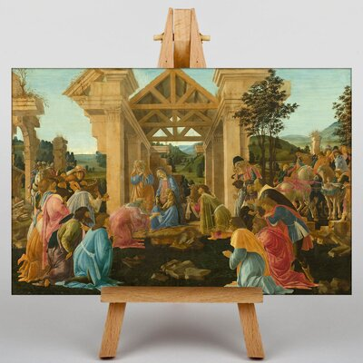 Big Box Art The Adoration of the Magi by Sandro Botticelli Art Print on Canvas