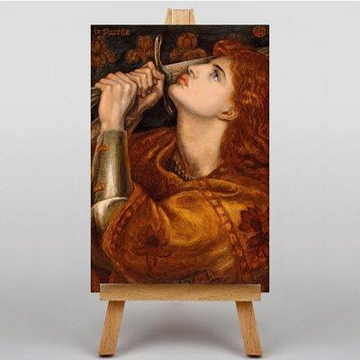 Big Box Art Heroine by Dante Gabriel Rossetti Art Print on Canvas