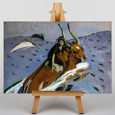 Big Box Art Europa by Valentin Serov Art Print on Canvas