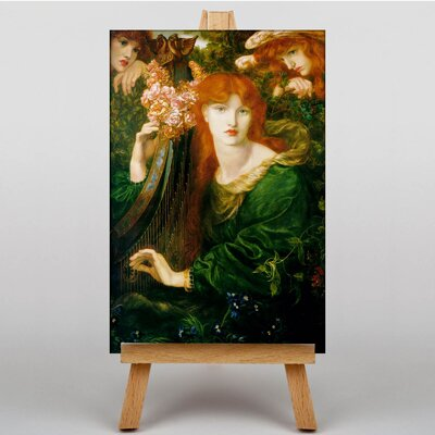Big Box Art La Ghirlandata by Dante Gabriel Rossetti Art Print on Canvas